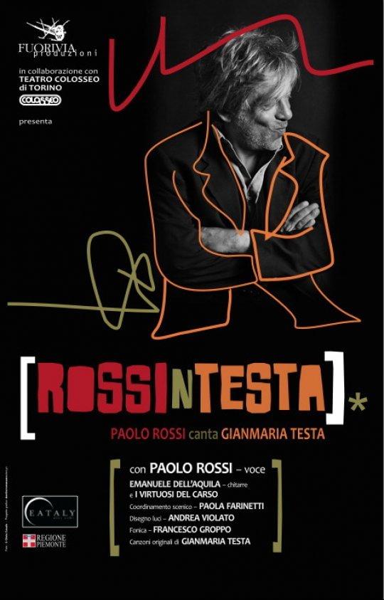 L'inedito di Gianmaria Testa, la maschera di Arlecchino nel recital di Paolo Rossi