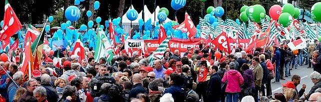 Primo maggio, i sindacati al governo: Senza risposte c'è la protesta