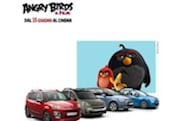 Fate largo: gli Angry Birds invadono Citroën