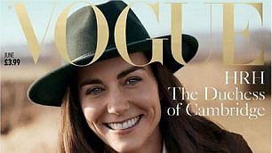 Gb, Vogue compie 100 anni: la copertina è per Kate Middleton