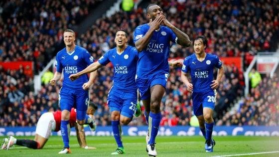 Manchester United-Leicester 1-1, Ranieri fa un altro passo verso il trionfo