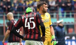 Milan-Frosinone 3-3: Menez salva Brocchi, ma l'Europa si allontana