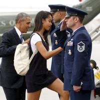 Malia Obama, un anno sabbatico in giro per il mondo e poi Harvard