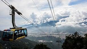 Sulle Ande fino a 4800 metri Via alla funivia più alta del mondo
