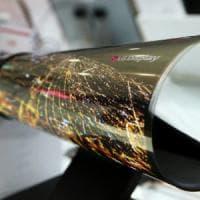 Il sensore biometrico trova posto nel display