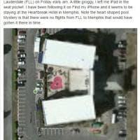 L'iPad perduto: tutte le tappe su Facebook