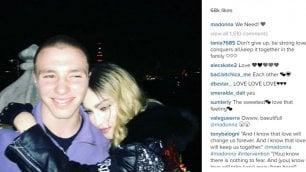 Pace fatta tra Madonna e il figlio Rocco, la celebrazione su Instagram