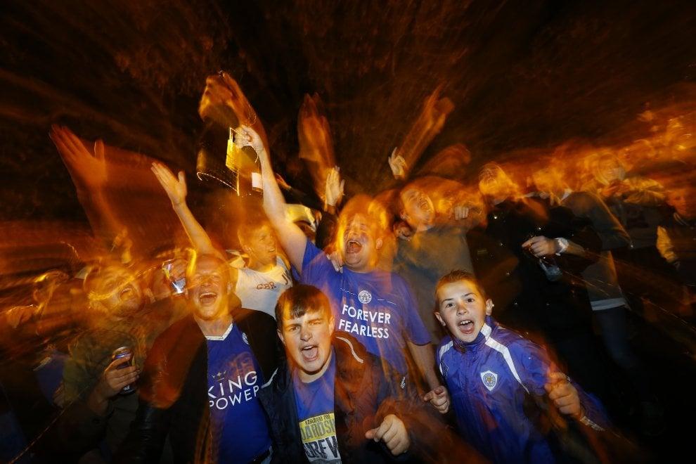 Leicester campione, una città in festa