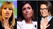 A Silvio restano solo tre donne