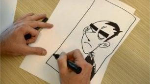 I fan sfidano Zerocalcare 'Disegna mio nonno da giovane'