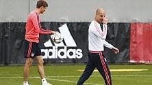 Bayern e Guardiola  rimonta con l'Atletico  o sarà un brutto addio  Alle 20.45 la diretta