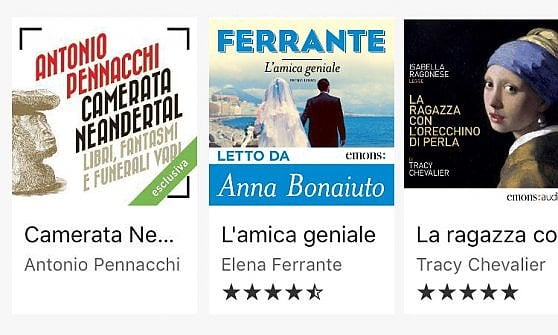 Audible arriva in Italia. Ecco gli audiolibri letti da voci celebri