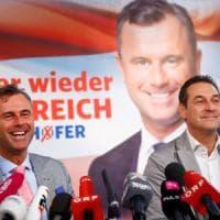 """Austria, Strache: """"Vogliamo un Tirolo di nuovo unito. Renzi e Merkel sono scafisti di..."""