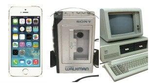 I gadget: dal walkman all'iPhone così ci hanno cambiato la vita