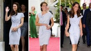Kate Middleton e l'arte del riciclo Tutti i look già visti della duchessa