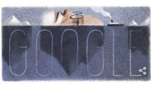 Freud, l'inconscio sotto l'iceberg Doodle per i 160 anni dalla nascita