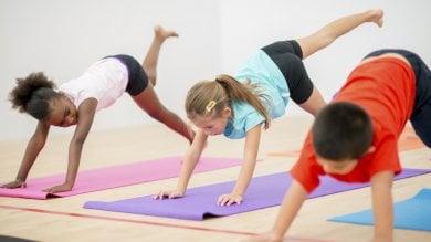 Yoga per i bambini, via al primo festival In Italia è boom di corsi e lezioni