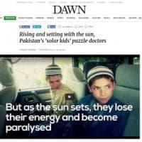 Pakistan, lo strano caso dei 'fratellini del sole': si paralizzano al tramonto