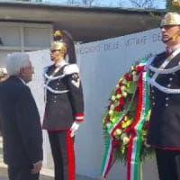 """Mattarella in Friuli per il 40esimo anniversario del terremoto: """"Una grande opera di..."""