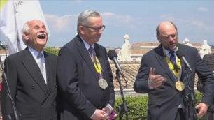 """Schulz: che film hanno girato qui? Gaffe di Juncker: """"Don Camillo?""""   di MARCO BILLECI"""