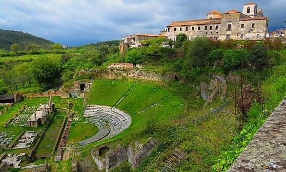 vulcani antichi parchi e romanit la campania verso l
