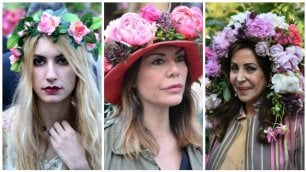Cappelli, signore e petali va in scena la Milano in fiore