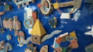 Il legno dei barconi  diventa opera d'arte