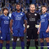 Leicester, ecco la nuova maglia dei campioni d'Inghilterra