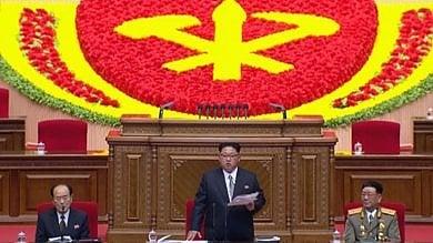 Nord Corea, mostrate immagini di Kim  che apre il primo Congresso in 36 anni