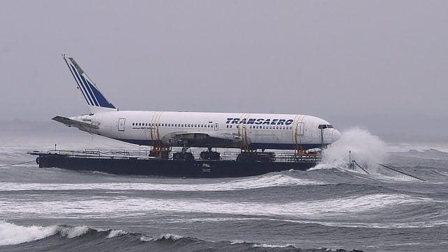 Un 767 naviga sullo Shannon
