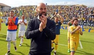 """Frosinone, Stellone saluta la A: """"Retrocediamo a testa alta"""""""
