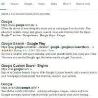 Google, il colore dei link diventa nero: addio al blu?