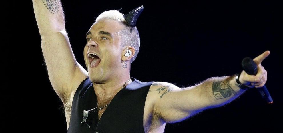 Robbie Williams, nuovo disco entro la fine dell'anno