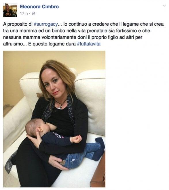 La Cimbro e il no alla maternità surrogata: polemica in casa Pd