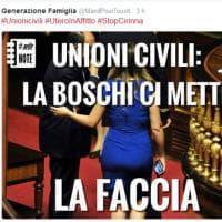 Associazione del Family Day, tweet offensivo contro Boschi