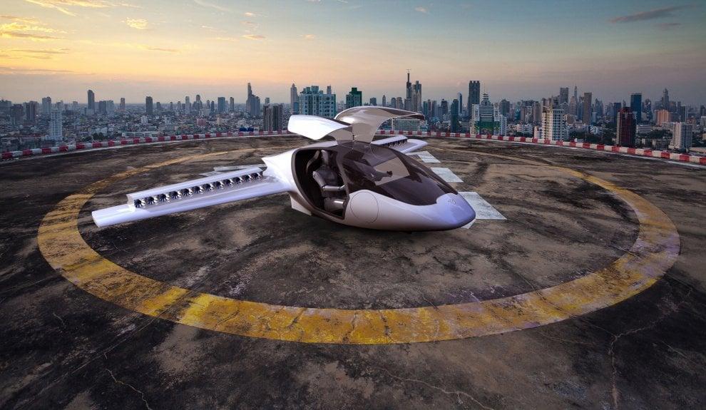 Lilium Jet, l'aereo elettrico a decollo verticale