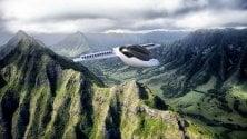 Lilium, il jet elettrico  a decollo verticale