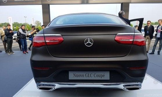 Mercedes Glc Coupe E Show Per Le Aziende Repubblica It