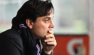 """Sampdoria, Montella: """"Chiudere con orgoglio, mai licenziato Cassano"""""""