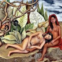 """Frida Kahlo da record: """"Due nudi nel bosco"""" venduto per 8 milioni di dollari"""