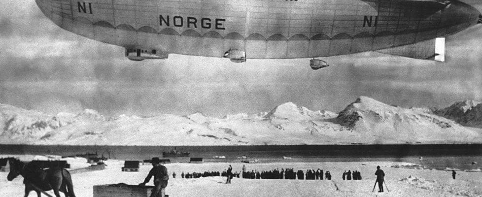 I dirigibili, il tricolore e la tenda rossa: il Polo Nord di Umberto Nobile, pilota aristocratico