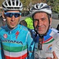Giro d'Italia, due papà in corsa contro la distrofia