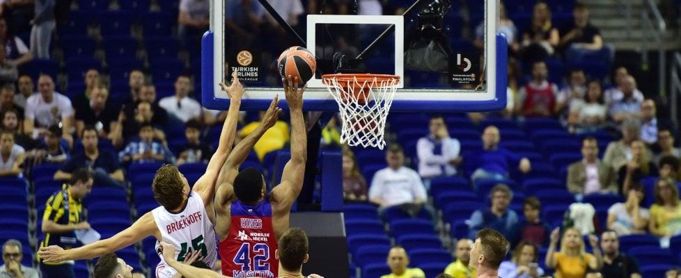 Basket, Eurolega: pronostico rispettato, finale Cska Mosca-Fenerbahce
