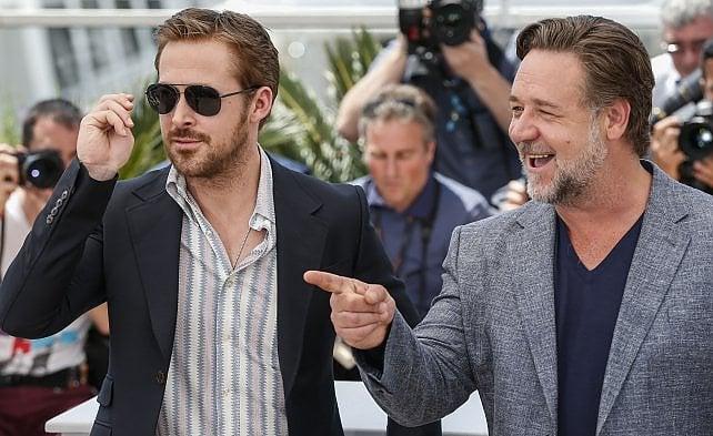 Gosling e Crowe, due ragazzacci a Cannes