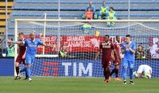 Empoli-Torino 2-1: Maccarone fa 13, Giampaolo saluta con un piazzamento storico