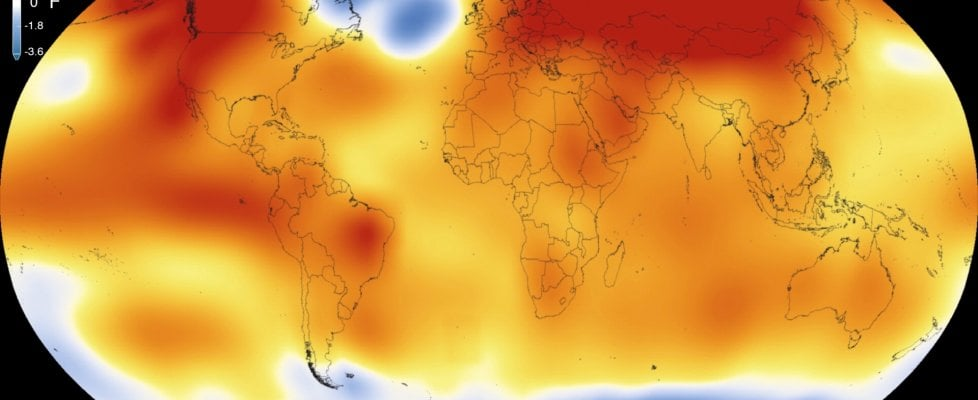 Aprile, temperatura record. E' il settimo mese consecutivo: il 2016 sarà l'anno più caldo