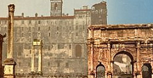 Roma senza tempo nelle prime foto a colori