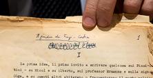 Ecco il manoscritto del giardino dei Finzi Contini  di MICOL LAVINIA LUNDARI