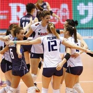 Volley, Preolimpico: Italia a caccia della terza vittoria. Paura per una scossa di terremoto
