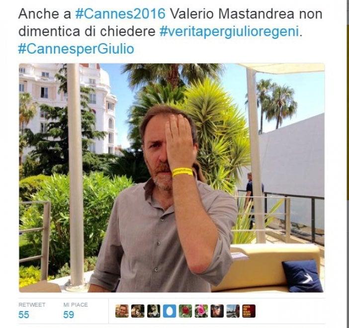 Da Ken Loach a Paolo Virzì, Cannes per Giulio Regeni. E si aggiunge Mastandrea